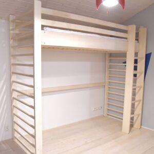 Puolapuuparvi - Wallbar Loft